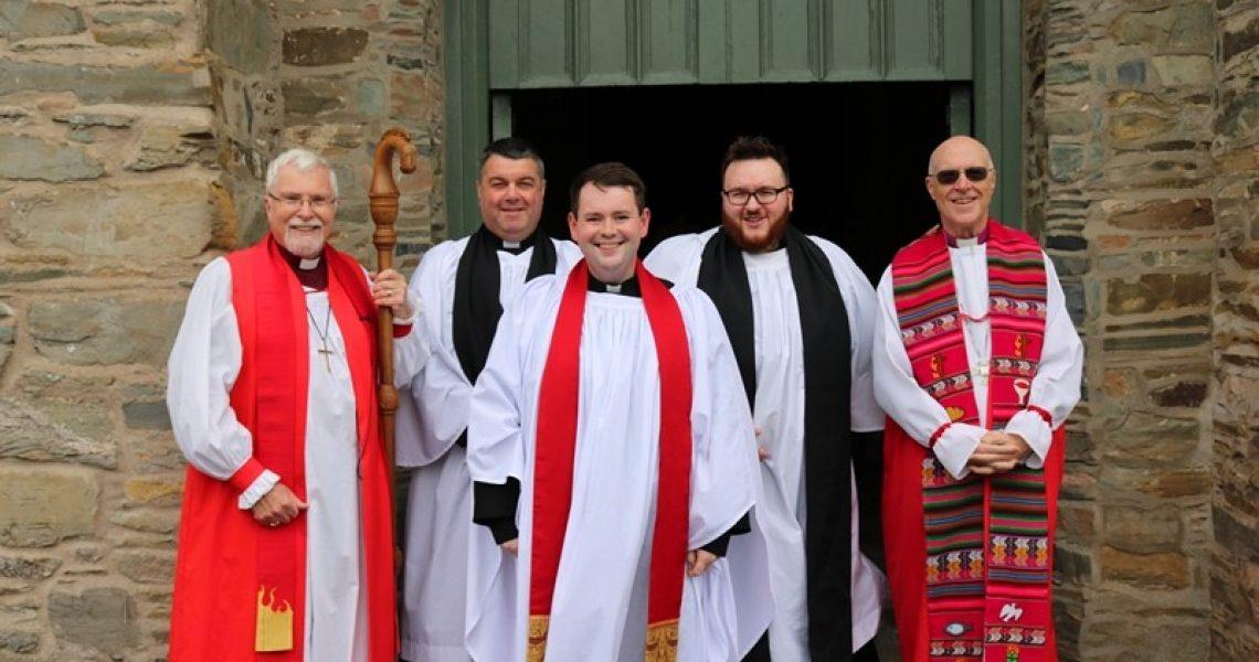 Bishop-Harold-Miller,-Revds-Christopher-St-John,-Mark-Gallagher,-Stuart-Moles-and-Bishop-Greg-Venables
