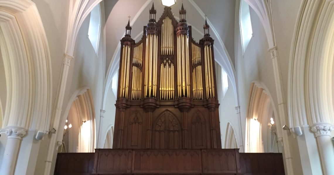 Down Cathedral's organ